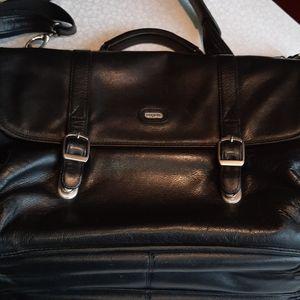 Faux leather Bugatti carrying bag